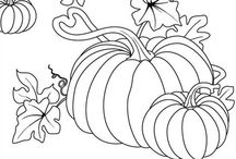 Coloring pages/Embroidery Transfers