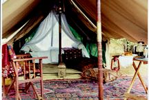 Glamping / all the fun ideas for the glampsite in my yard / by Beth Cupitt