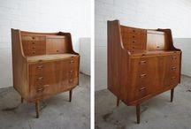 Furniture Restoration and Repurposing