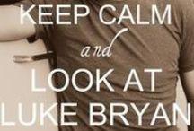 Luke Bryan <3 / by Crystal Fazenbaker