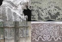Lace / I just love lace!  Inspiration boards for your shabby boudoirs