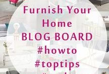 Our Blog | Furnish Your Home / Visit our #blog page for #howto #tips and #style