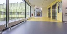 Healthcare References Finland / Upofloor Zero, PVC and platizer free enomer flooring