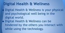 Digital Health and well being / Health and wellbeing