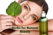 Herbs For Beauty / There are several ways to enjoy the healing power of herbs in your everyday beauty treatments.
