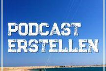 Podcast erstellen - Technische Voraussetzungen & Zubehör / Alles zum Thema Podcasting findest Du auf dieser Pinnwand: Vom passenden Zubehör wie Mikrofon, Software usw. bis hin zum Pop-Killer, Kabel uvm.