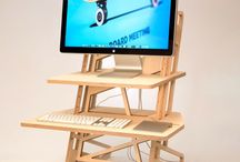 Standing Desks / Standing desks, standing desk converters and sit-stand setups for workspaces, offices, creatives, makers and those wanting to improve their posture, mental focus and strengthen their lower back!