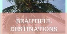 BEAUTIFUL DESTINATIONS / Turquoise water, beautiful beaches, refreshing waterfalls and amazing landscapes. Get your daily dose of inspiration and paradise feeling here where we showcase Beautiful Destinations around our beautiful world.
