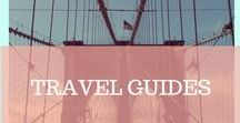 TRAVEL GUIDES / Planning the perfect get-away and lokking for the must sees, must goes and must dos? Check out this board to find practical travel guides to destinations we love <3