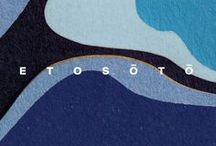 Etosoto graphic design / Design graphisme identité visuel Hotel Etosoto