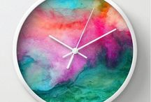 Clocks and Colors