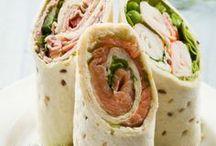 Ideas for Lunches / Idées de plats/recettes pour déjeuners à emporter.