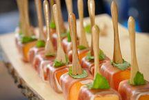 Catering / Idées de présentations/mise en scène et photos pour du catering/traiteur événementiel.