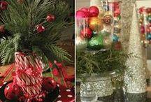 Natal / Tudo para uma boa decoração ..desde da mesa ..a casa toda ..é receitas para um bom natal em família .