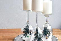Weihnachten Deko / Hier findet ihr eine paar Inspirationen für eure Weihnachtsdeko