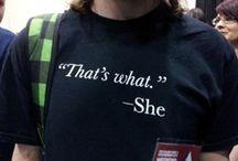 T-Shirts I Want / by Amanda Dominy