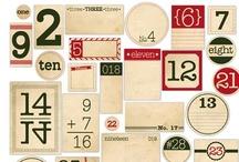 Printables & Digital Scrapbooking / Labels, scrapbook templates, printables, etc / by Amanda Dominy