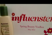 influenster box :D / dena fletcher ‏@hellokittylitle