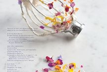 Floral Edibilities / by Aurora Kangaspuu