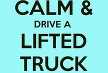 lifted trucks.