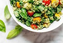 [eat] Salad / We all need a little more greens in our diet, right? These salad recipes will not leave you hungry, or unsatisfied!