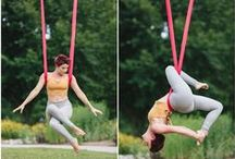 Aerial, Yoga, Thai, Massage, Portraits / Red Apple Tree Photography www.redappletreephotography.com working with Kelly VanLeeuwen Yoga & Massage at http://www.kvlmassage.com/
