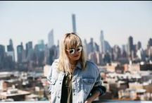 Go Global: NYC / She's a wanderer, a traveler, a doer. With dreams at her heels, she descends upon the city... / by Free People