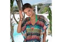 BEACHWEAR / Créez des looks d'été assortis à vos maillots de bain avec les tuniques légères, robes de plage, paréos ou tee-shirt long Livia !