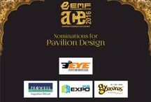 bronze awards for pavilion design at EMF ACE 2016 /  Expo Hub is proud to announce that this year we have bagged bronze awards for pavilion design at #EMFACE2016 Thanks to #clients #Vendor #team Expo Hub for great support #Event Management Federation #ACEwards2016 at #Jagmandir island palace- Udaipur.