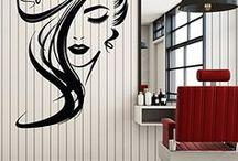 Beauty Salon Wall Decor Ideas