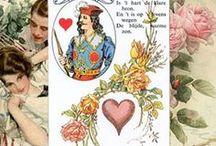 """Иллюстрации к Ленорман (Lenormand) / Для статей по значениям карт Ленорман (Lenormand Card) мы готовили коллажи в качестве первью. Использована колода """"Предсказательные карты мадам Ленорман (Mlle. Lenormand Fortune Telling Cards)""""."""
