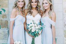 Bridesmaid Inspiration / Bridesmaid inspiration by Getting Married In Greece destination wedding blog