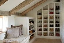 House Inspiration - Saving Space / Everyone need a little more space at times, here's some storage ideas to give you a little more room to breathe.