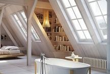 House Inspiration - Awesome Attics / How to make the most of your attic