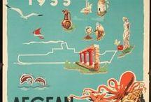 Design - The Grand Tour / Vintage Travel Guides