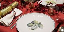 Christmas Table Ideas / Get some inspiration for your traditional Christmas table setting from Jersey Pottery. Our beautiful ceramics make the perfect festive get-together addition and are guaranteed to be a talking point.