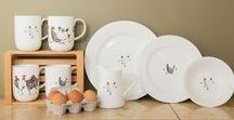 Country Home / With designs inspired by nature, Jersey Pottery have a selection of ranges that will add character to your country home dining table.