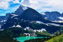 Glacier National Park / Planning a trip for the family to Glacier National Park - saving these pins for later!