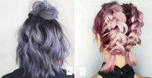 Цветные волосы и Причёски / О волосах
