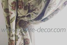 Gobelínové závěsy / curtain design / Inspiring curtain designs, design závěsů, záclony a závěsy