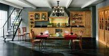 Мебель для кухни / Кухня-это самое главное место в доме, его сердце. Именно здесь делятся важными новостями, отдыхают после работы и конечно готовят и принимают пищу.  Сделать каждый сантиметр кухни функциональным, продуманным и красивым, разобраться в многообразии фактур и стилей Вам помогут наши профессионалы.