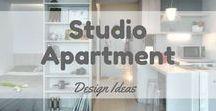 Studio Apartment Design Ideas / Studio apartment ideas for your future heaven :)