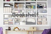 Bookshelf Ideas / You can make bookshelf at your home