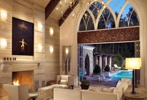 : Poolhouses : 39 / This totally awesome Poolhouse Exteriors and Interiors / by Debra Hull