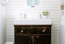 Bathroom renovation ideas / by Lisa