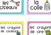 2e année / Ideas for my French immersion 2nd grade class