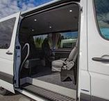 Mercedes-Benz Sprinter Tamlans - Disabled Taxi / The Tamlans Sprinter is a partner that fulfils even most demanding wishes and resolves problematic situations. The comfort, spaciousness, and modifiability of Tamlans Sprinter make up a passenger-friendly combination.