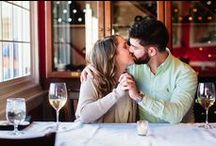 engagement photos in ct   JENNY + KEVIN / Location: Hillstead Museum and Galleria Restaurant in Farmington, CT   Hair: Blo Blow Dry Bar   Captured by Greg Lewis Photo