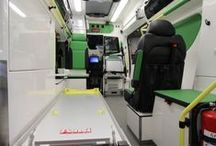 Mercedes-Benz Sprinter Tamlans - Ambulance / The Tamlans Sprinter ambulance represents a new generation of the Sprinter. The vehicle's dimensions meet the standard EN 1789 B category requirements and there is a place for each piece of care and patient transfer equipment. Larger size means more possibilities for equipment and device placement. The equipment options of Tamlans allow assembly of a working environment suited to one's needs.
