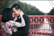 engagement photos in new milford ct   LAUREN + MIKE / The winter engagement session of Lauren and Mike at the Bank Street Theater in New Milford, a local coffee shop and Lovers Leap bridge.   Captured by Greg Lewis Photography